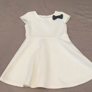 Healthtex Cream Quilted 3T Dress